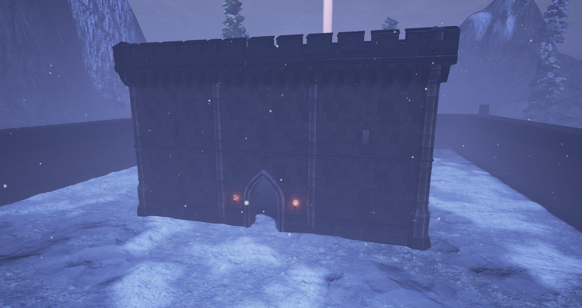 Fully destructible castle keep for the game Fictorum