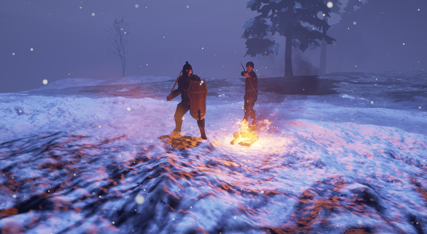 New character meshes for the First Person Mage RPG Fictorum