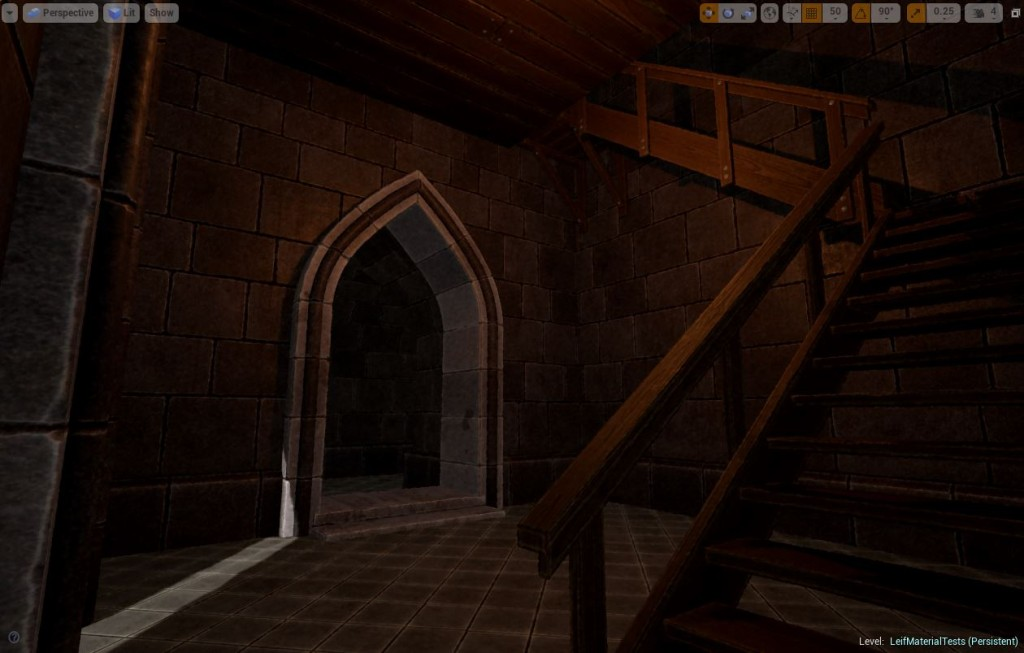 Yet another screen shot of the new castles in Fictorum