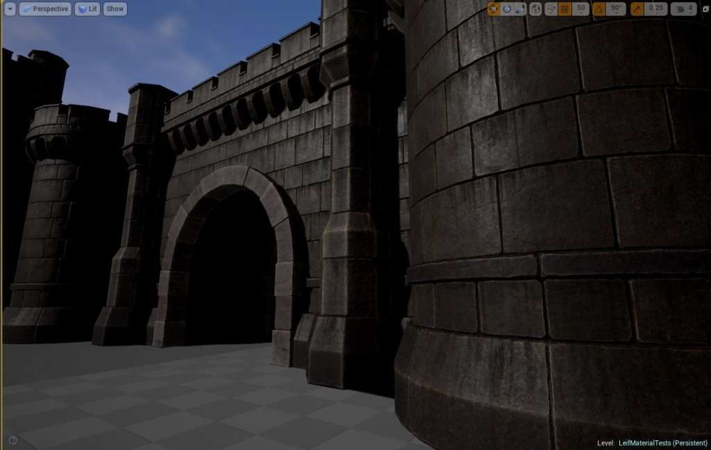 Another screen shot of the new castles in Fictorum