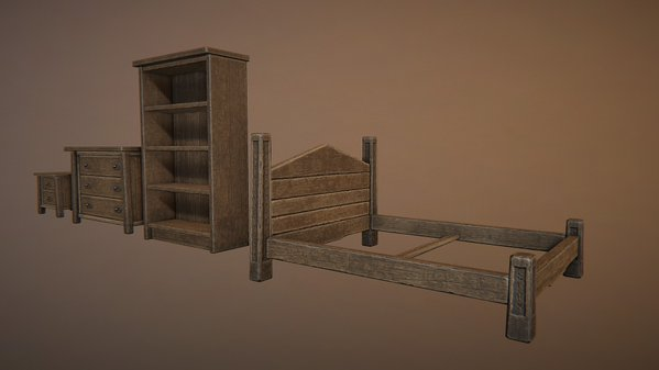 Worn furniture for the game Fictorum