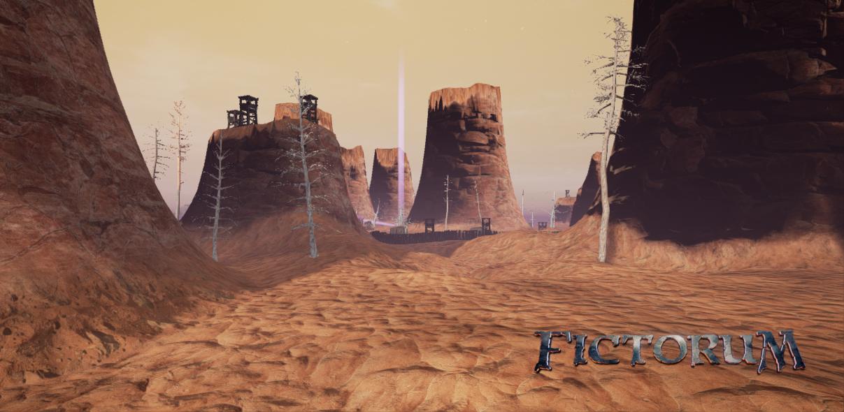 Fictorum desert gauntlet