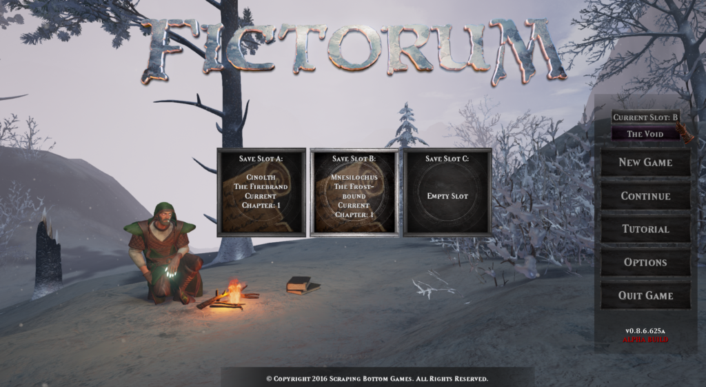 Fictorum Save Slots
